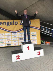 Bauke te Neijenhuis Nederlands Kampioen snelwandelen M85